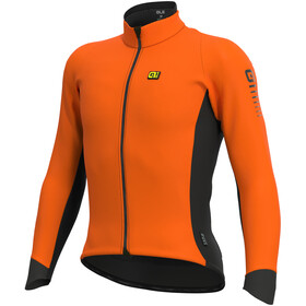 Alé Cycling Clima Protection 2.0 Wind Race Jas Heren, fluo orange